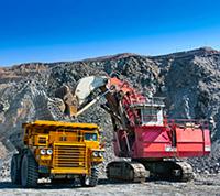 Kaydon Bearings - mining shovel and truck