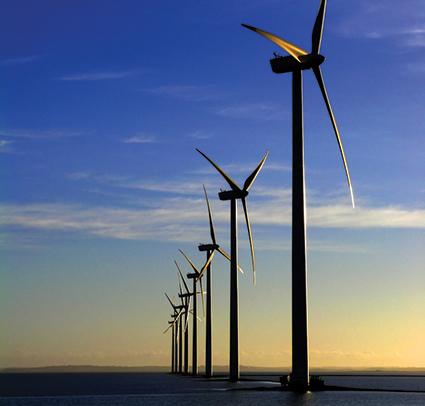 Kaydon slewing bearings in wind turbines