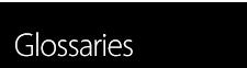 Turntable glossaries