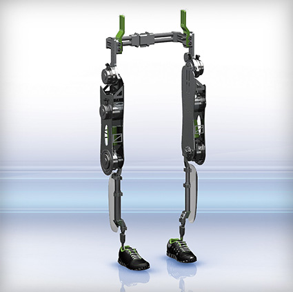 Kaydon Bearings - VariLeg exoskeleton