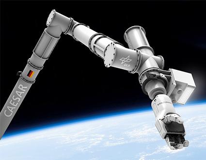 Kaydon Bearings - Internationalen Raumstation - CAESAR Roboterarmlager