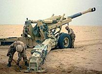 Kaydon Bearings - markets - aerospace & defense - towed howitzer
