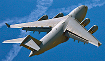 Kaydon Bearings - markets - commercial aerospace - commercial cargo airplane