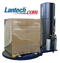 Kaydon Bearings - markets - industrial machinery - Lantech pallet stretch wrapper