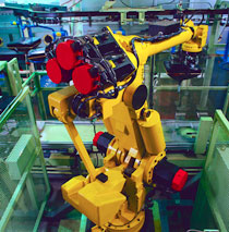 Kaydon Bearings - markets - industrial machinery - robot