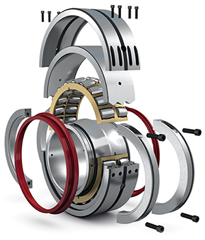 SKF Cooper split spherical roller bearings