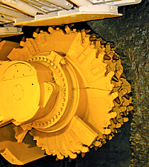 Kaydon Bearings - markets - mining - longwall mining equipment