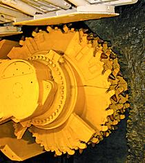Kaydon Bearings - markets - mining - longwall mining equipment