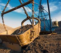 Kaydon Bearings - markets - mining - excavator shovel