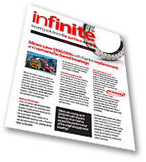 Kaydon infinite bearing solutions for mining newsletter