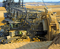 Kaydon Bearings - markets - mining - open cast mining