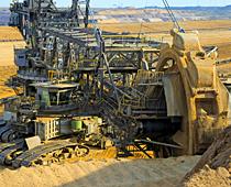 Kaydon Bearings - markets - mining - open cast mining