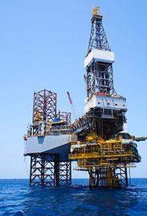 Kaydon Bearings - markets - oil & gas - oil rig