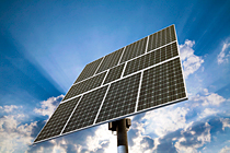 Kaydon Bearings - markets - renewable energy - solar panels