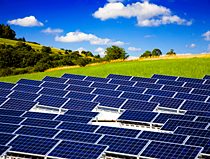 Kaydon Bearings - markets - renewable energy - solar panels