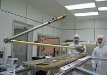 Phoenix Mars Lander scooping arm with Kaydon bearing