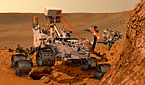 The Mars rover, Curiosity, features Kaydon Reali-Slim® thin section bearings