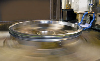Kaydon bearing remanufacturing program: precision grinding