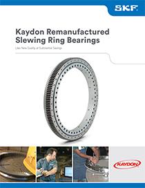 Kaydon Remanufactured Slewing Ring Bearings brochure