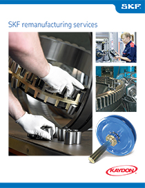 SKF Bearing Remanufacturing Services brochure