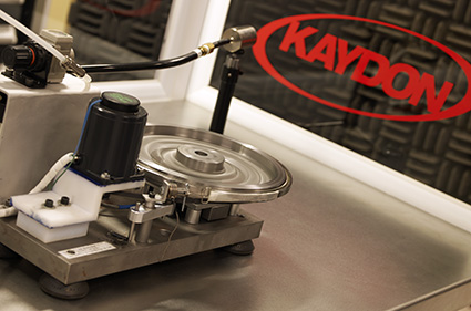 Kaydon Bearings - torque and vibration testing